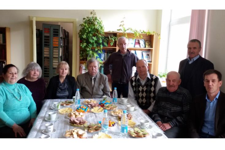 День пожилых людей в Институте